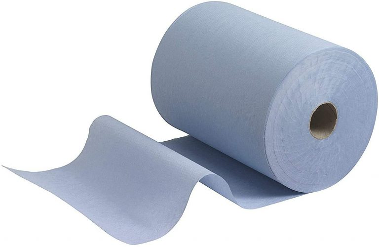 Blue Wiper Roll