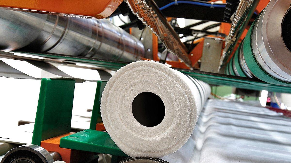 Paper Tissue Production Machine