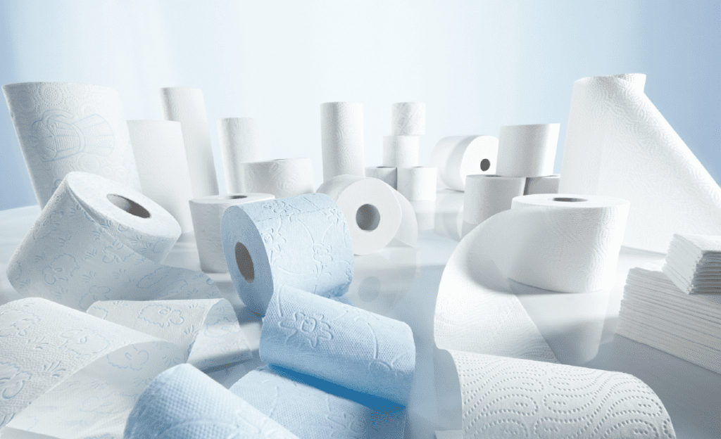 Various Size Tissue Products